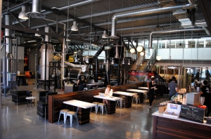 The finished Roastery - beautiful!