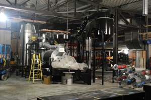 May 2012 - The Roaster being installed!